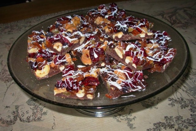 French Chocolate Bark; recipe from Ina Garten